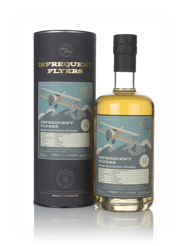 Macduff 11 Year Old 2007 (cask 11303) - Infrequent Flyers (Alistair Walker)