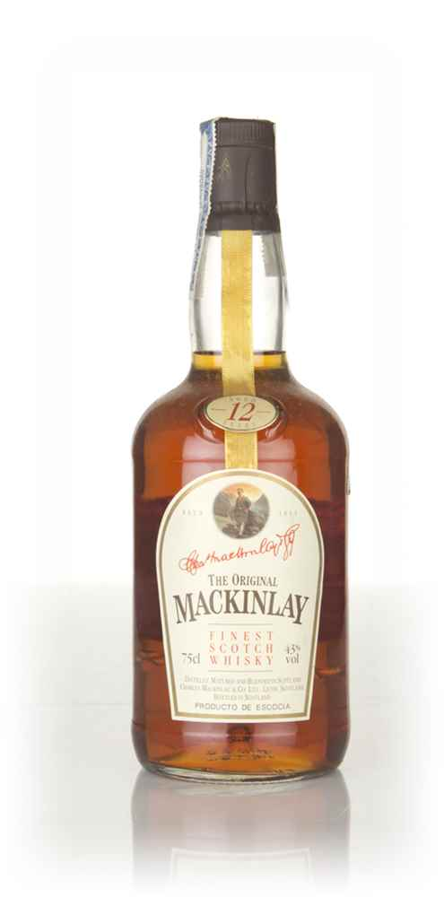 Mackinlay's 12 Year Old Whisky - 1970s