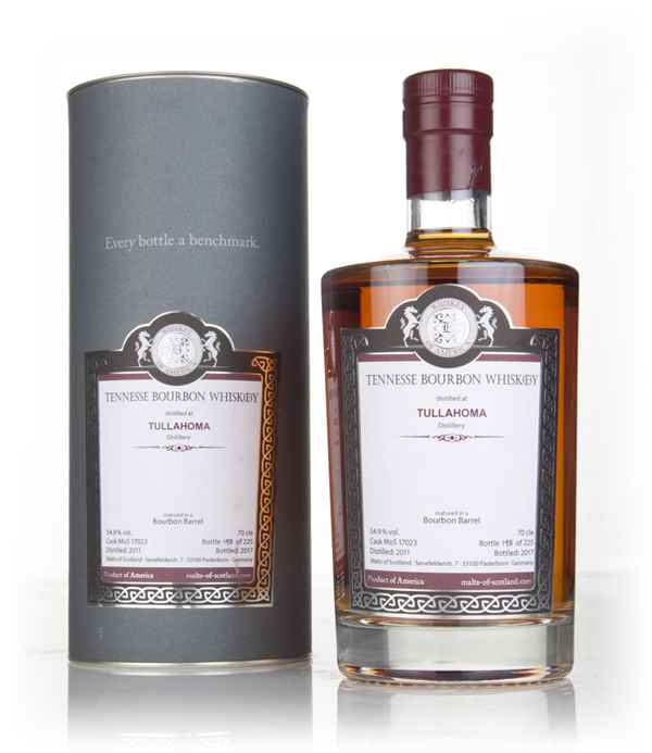 Tullahoma 2011 (bottled 2017) (cask 17023) - Malts of Scotland