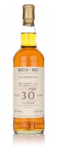 Master of Malt 30 Year Old Speyside (3rd Edition)