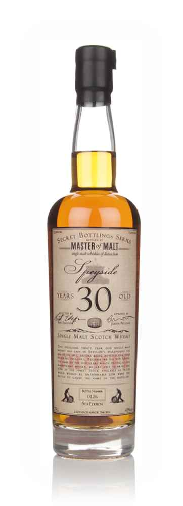 Master of Malt 30 Year Old Speyside (5th Edition)