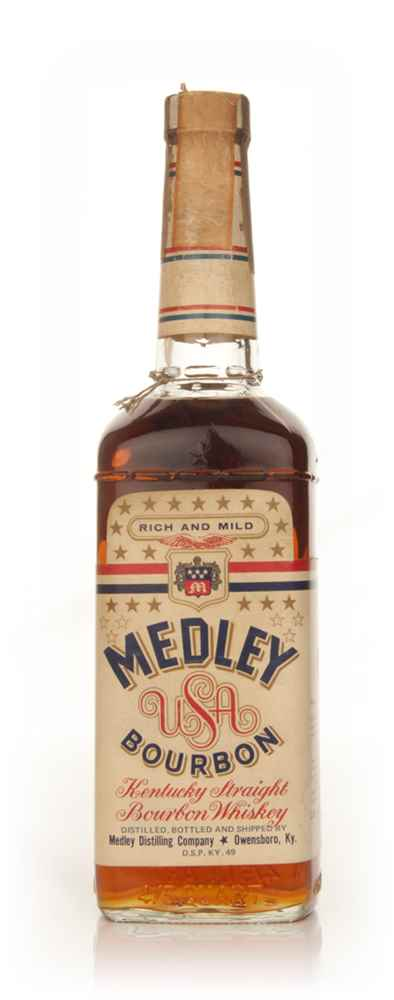 Medley's Kentucky Bourbon 43% - 1970s