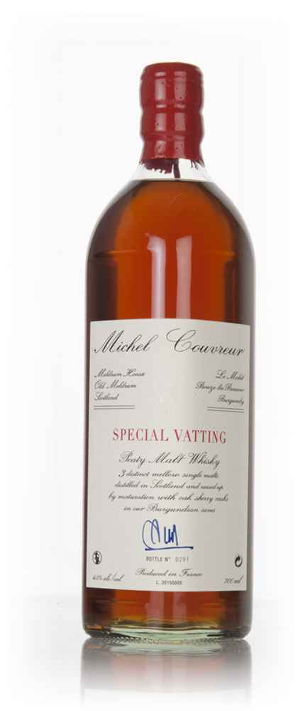 Michel Couvreur 'Special Vatting' Peaty Malt Whisky