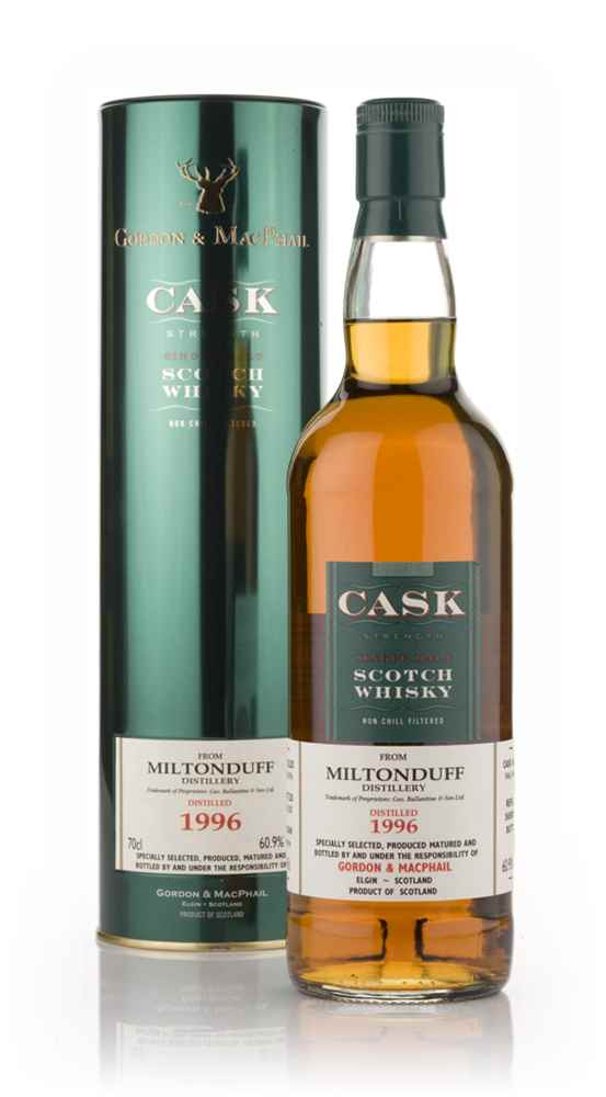 Miltonduff 1996 - Cask Strength (Gordon and MacPhail)