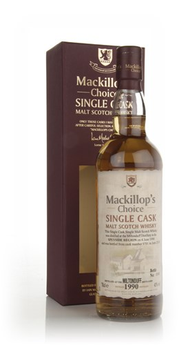 Miltonduff 1990 (cask 9701) - Mackillops Choice (bottled 2010)
