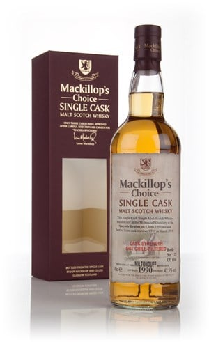 Miltonduff 23 Year Old 1990 (cask 9735) - Mackillop's Choice