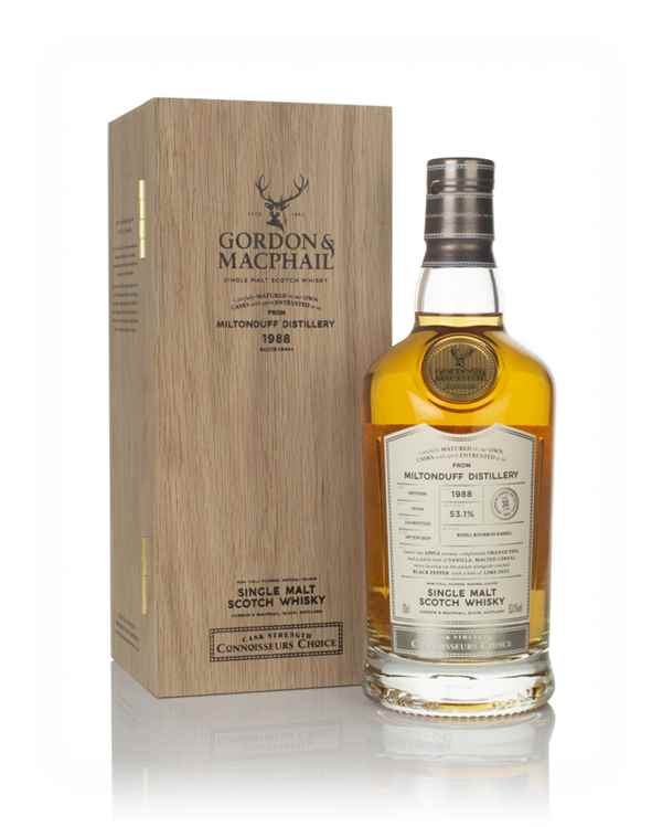 Miltonduff 30 Year Old 1988 - Connoisseurs Choice (Gordon & MacPhail)