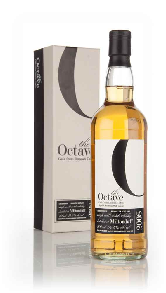 Miltonduff 6 Year Old 2008 (cask 838945) - The Octave (Duncan Taylor)