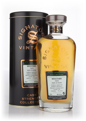 Mosstowie 33 Year Old 1979 Cask 1307 - Cask Strength Collection (Signatory)