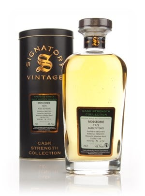Mosstowie 35 Year Old 1979 (cask 1309) - Cask Strength Collection (Signatory)