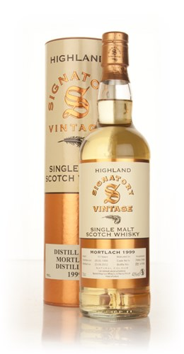 Mortlach 13 Year Old 1999 (casks 7898+7899) (Signatory)