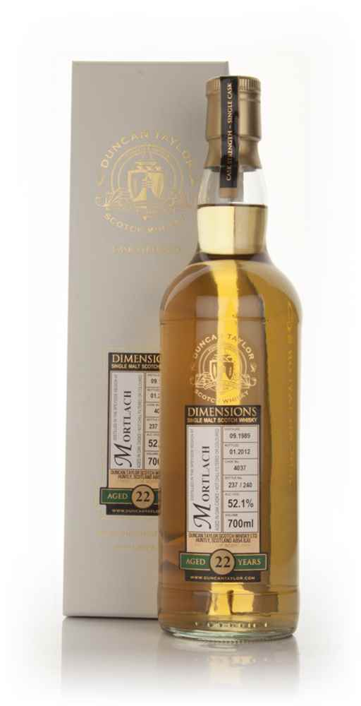 Mortlach 22 Year Old 1989 - Dimensions (Duncan Taylor)
