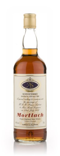 Mortlach Royal Wedding (Gordon and MacPhail)