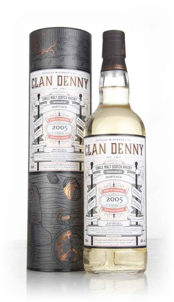 Mortlach 12 Year Old 2005 (cask 11798) - Clan Denny (Douglas Laing)