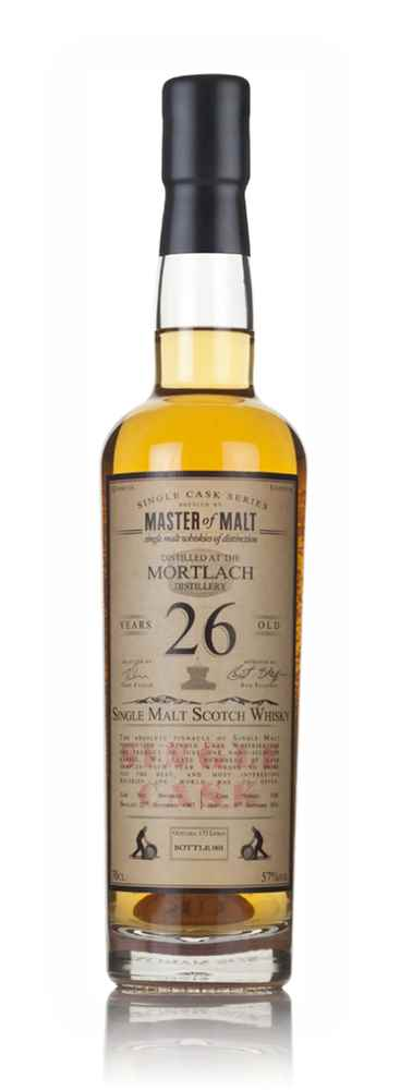 Mortlach 26 Year Old 1987 - Single Cask (Master of Malt)