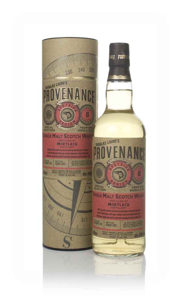 Mortlach 8 Year Old 2011 (cask 13519) - Provenance (Douglas Laing)