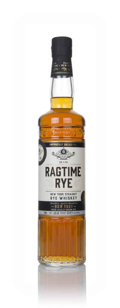 Ragtime Rye Whiskey 57.9% (British Bourbon Society)