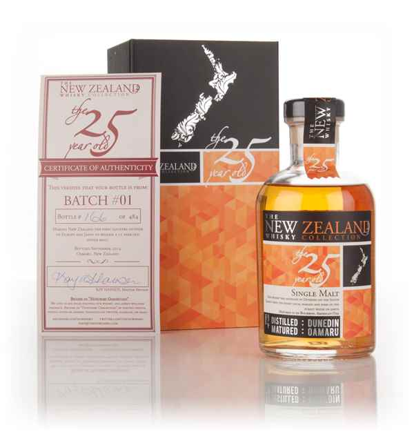 New Zealand Whisky Company 25 Year Old (bottled 2014) Batch #01