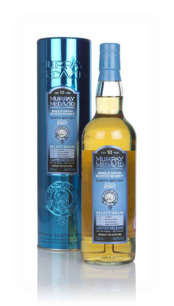 North British 10 Year Old 2007 (casks 606919 & 616919) - Select Grain (Murray McDavid)