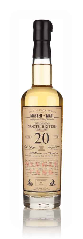 North British 20 Year Old 1994 - Single Cask (Master of Malt)