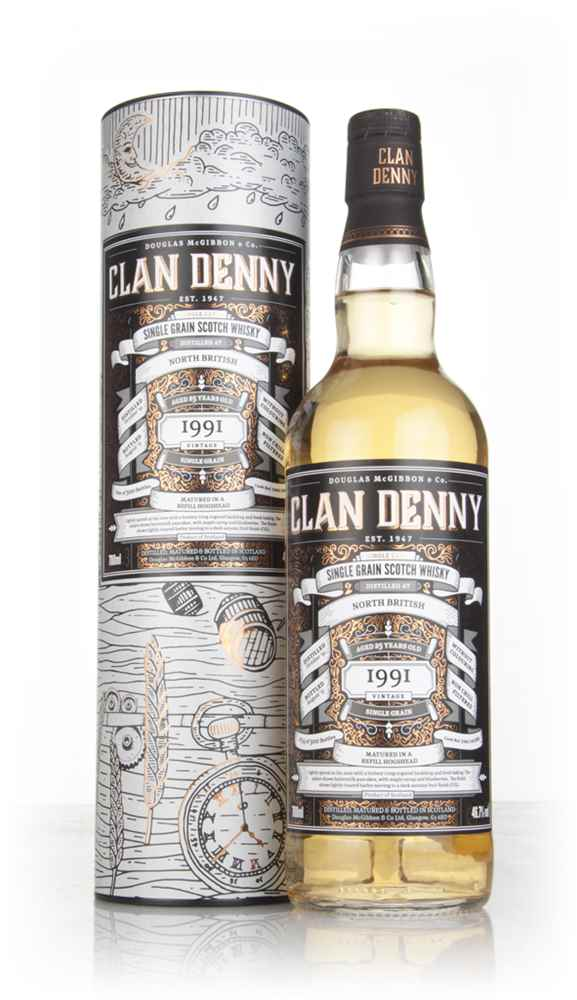 North British 25 Year Old 1991 (cask 12088) - Clan Denny (Douglas Laing)