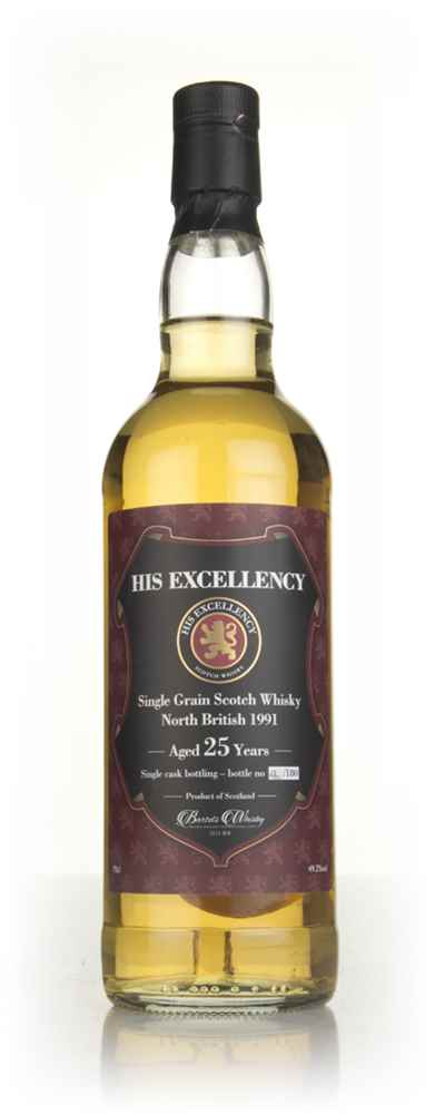 North British 25 Year Old 1991 - His Excellency (Bartels Whisky)