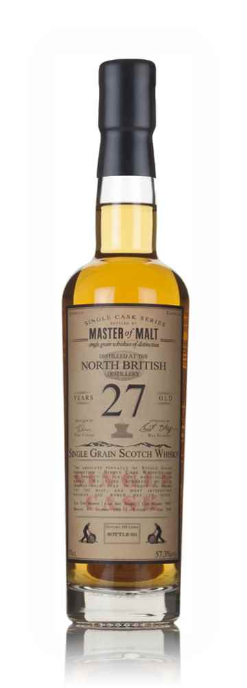 North British 27 Year Old 1988 (cask 55817) - Single Cask (Master of Malt)