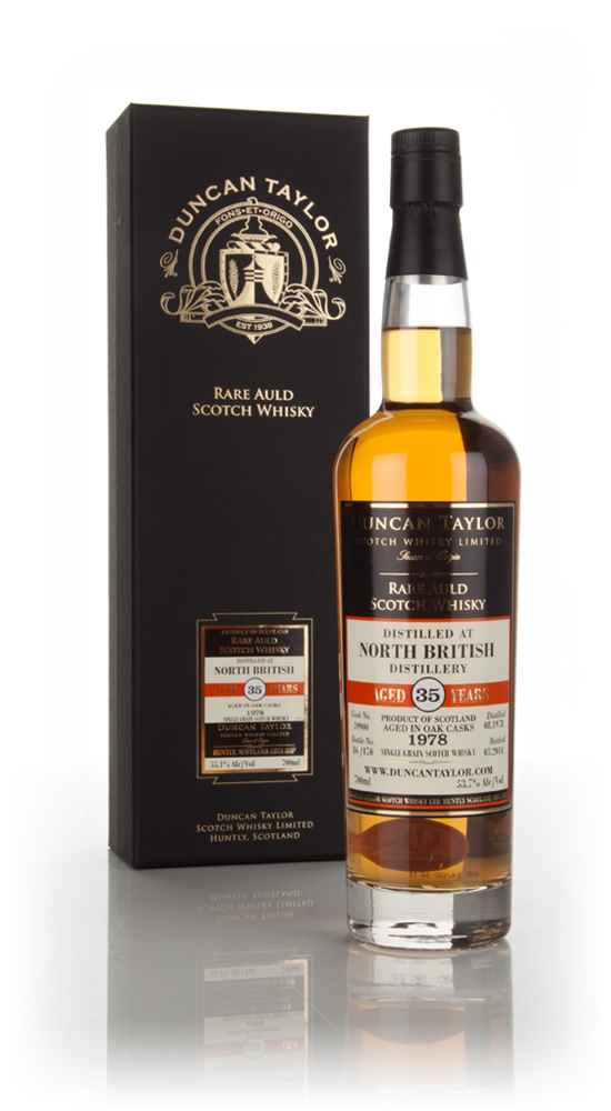 North British 35 Year Old 1978 (cask 39900) - Rare Auld (Duncan Taylor)