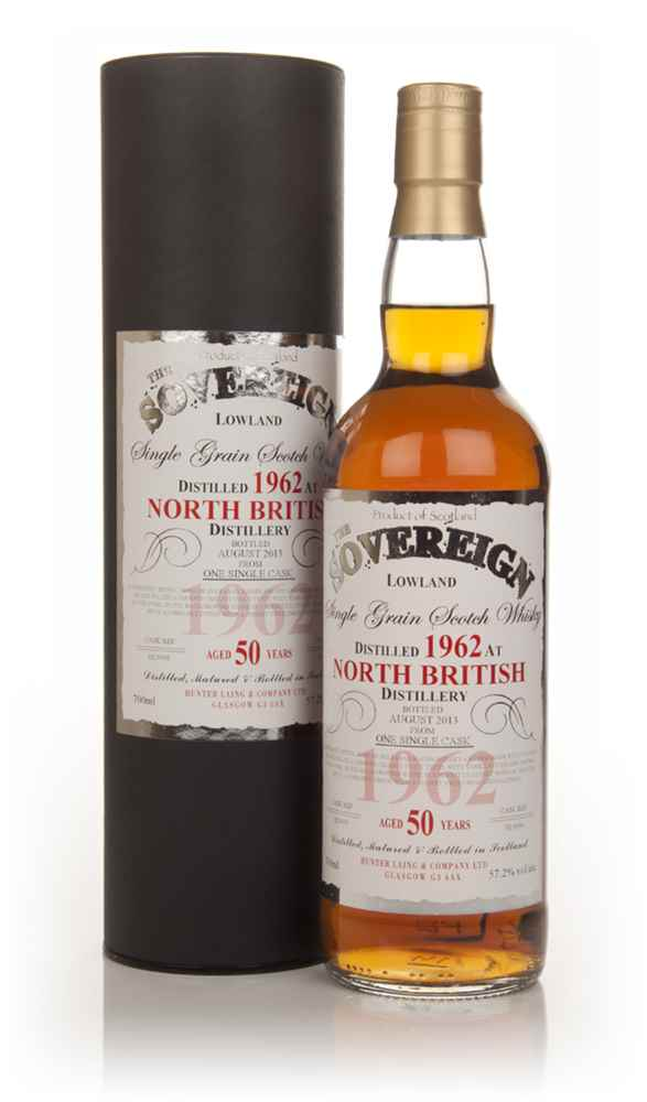 North British 50 Year Old 1962 (cask 9930) - The Sovereign (Hunter Laing)