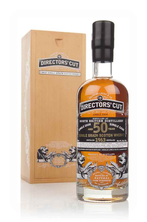 North British 50 Year Old 1963 (cask 10268) - Directors' Cut (Douglas Laing)