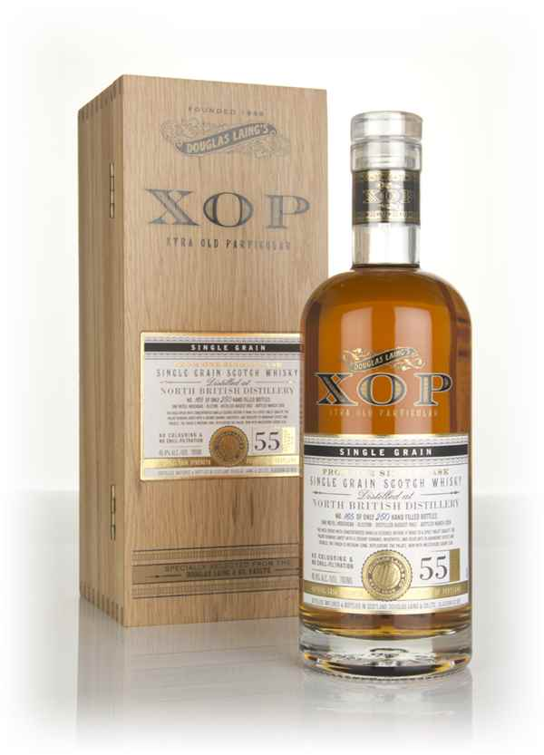 North British 55 Year Old 1962 (cask 12398) - Xtra Old Particular (Douglas Laing)