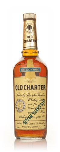 Old Charter 7 Year Old Kentucky Bourbon - 1970s