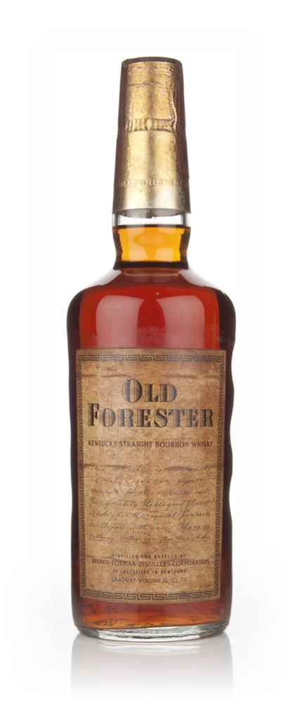 Old Forester Kentucky Bourbon - 1970s