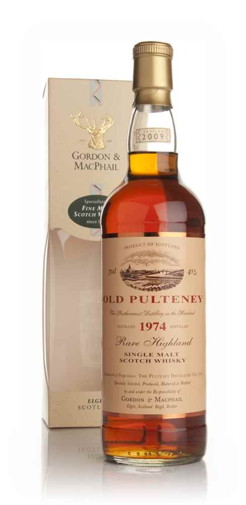 Old Pulteney 1974 (Gordon and MacPhail)
