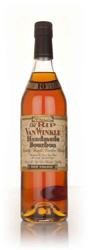 old rip van winkle 10 year old 107 proof whiskey