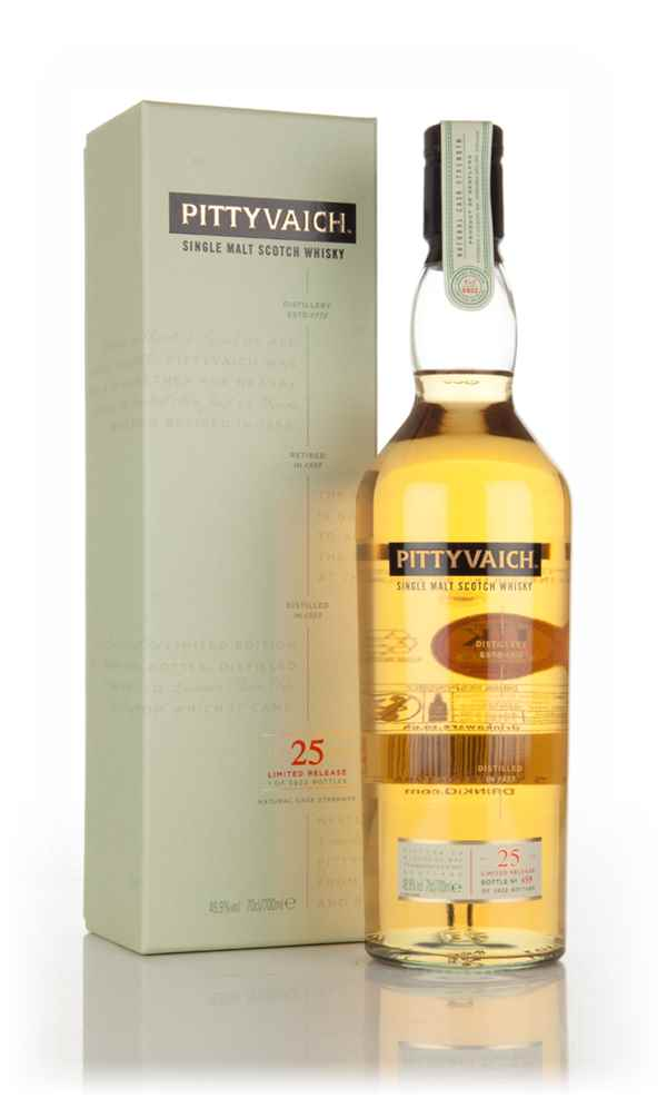 Pittyvaich 25 Year Old 1989 (Special Release 2015)