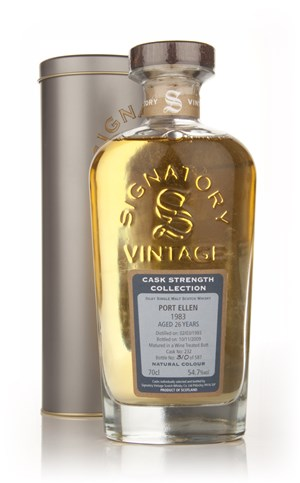 Port Ellen 26 Year Old 1983 - Cask Strength Collection (Signatory)