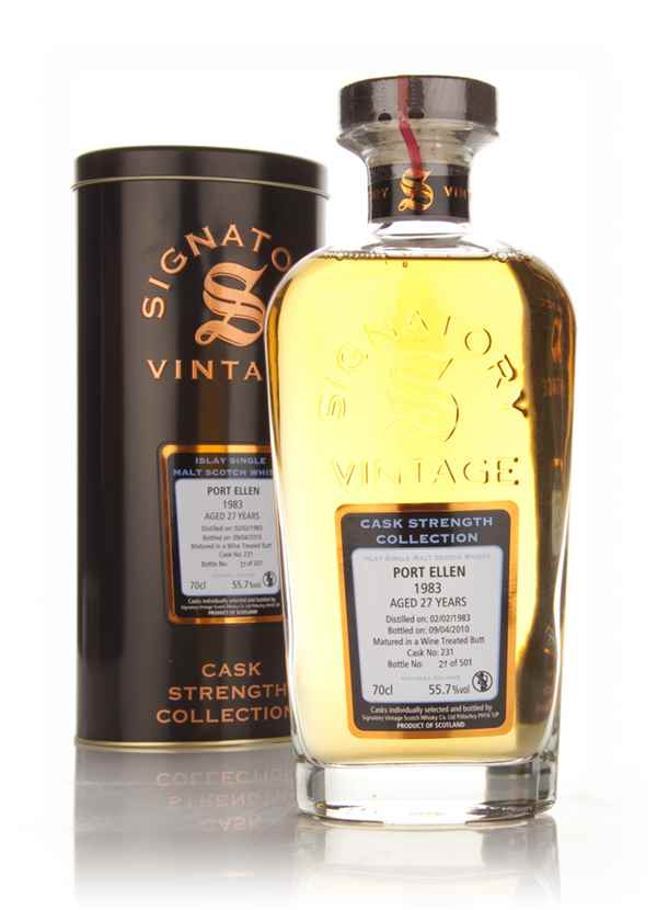 Port Ellen 27 Year Old 1983 - Cask Strength Collection (Signatory)