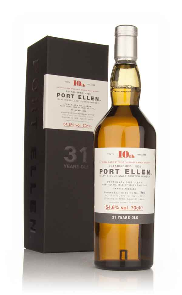 Port Ellen 31 Year Old 1978 - 10th Release (2010 Special Release)