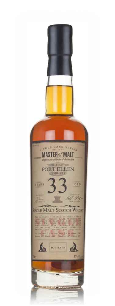 Port Ellen 33 Year Old 1983 - Single Cask (Master of Malt)