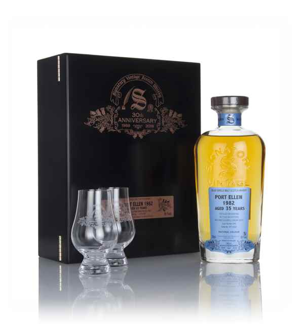 Port Ellen 35 Year Old 1982 (cask 2040) - 30th Anniversary Gift Box (Signatory)