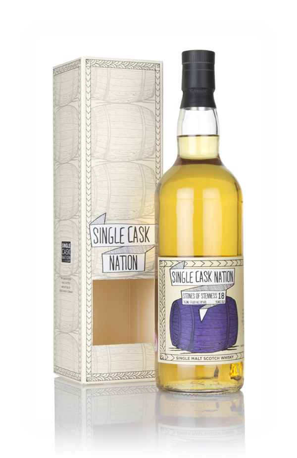 Stones of Stenness 18 Year Old 1999 (Single Cask Nation)