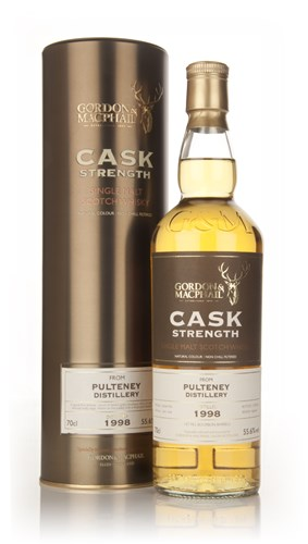 Pulteney 1998 (casks 1063+1064)- Cask Strength (Gordon and MacPhail)