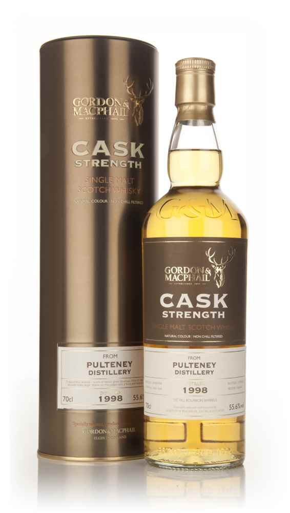 Pulteney 1998 (casks 1063+1064)- Cask Strength (Gordon & MacPhail)