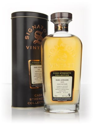 Rare Ayrshire 36 Year Old 1975 - Cask Strength Collection (Signatory)