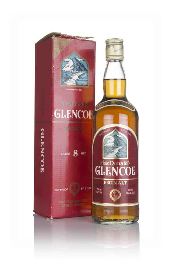 MacDonald's 8 Year Old Glencoe Pure Highland Malt - 1970s