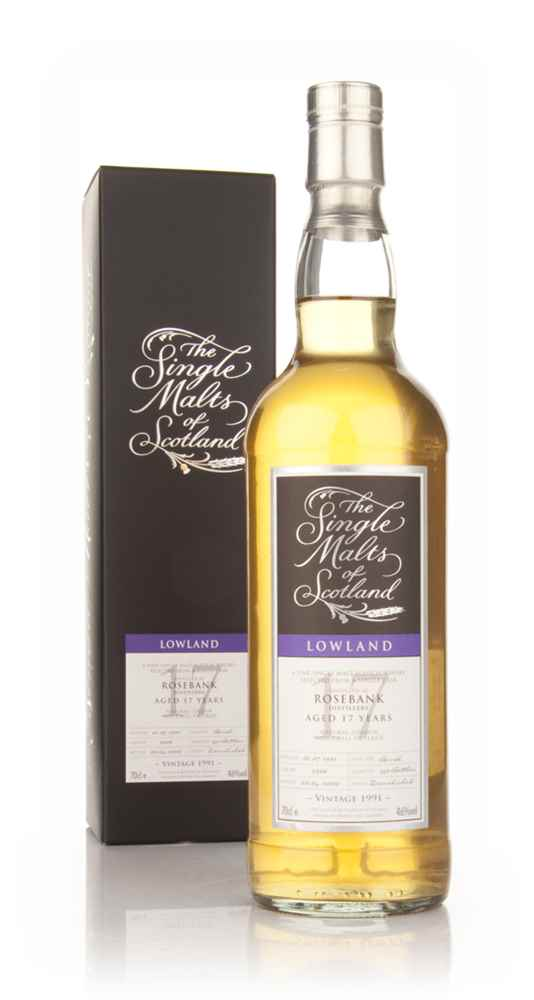 Rosebank 17 Year Old 1991 - Single Malts of Scotland (Speciality Drinks)