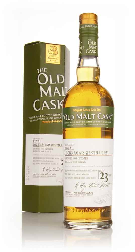 Royal Lochnagar 23 Year Old 1984 - Old Malt Cask (Douglas Laing)