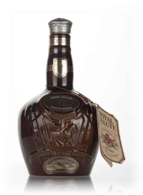 Royal Salute 21 Year Old - Brown Flagon - 1970s