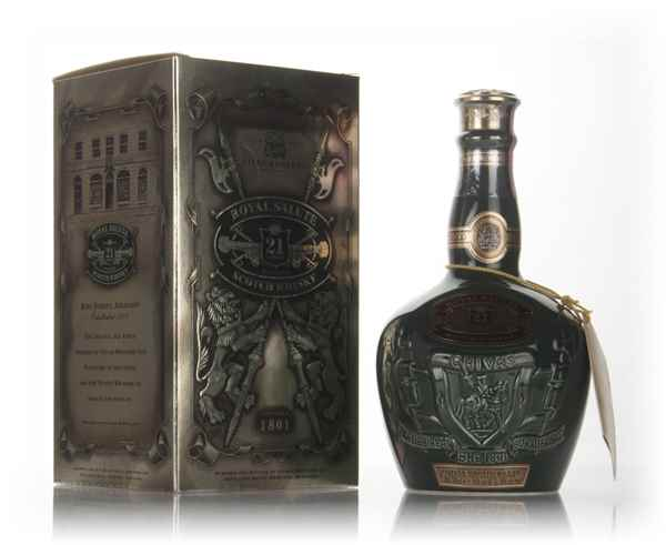 Royal Salute 21 Year Old Emerald Flagon - post 1999